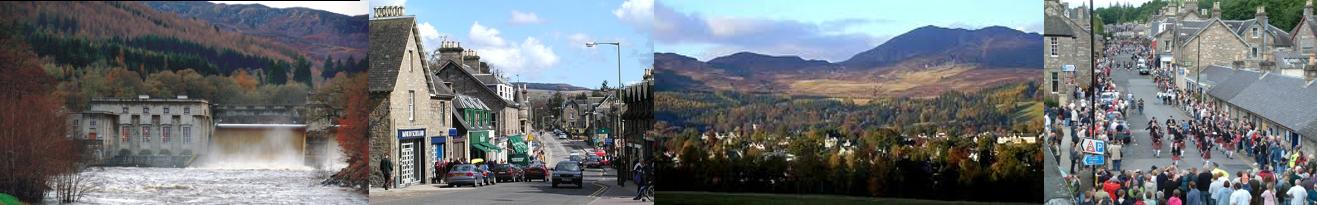 Pitlochry, Perthshire, Scotland