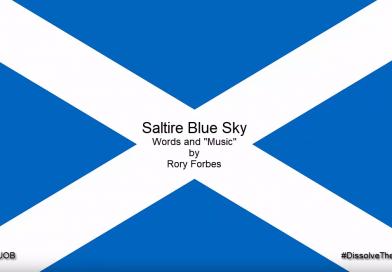 Saltire Blue Sky – original independence song